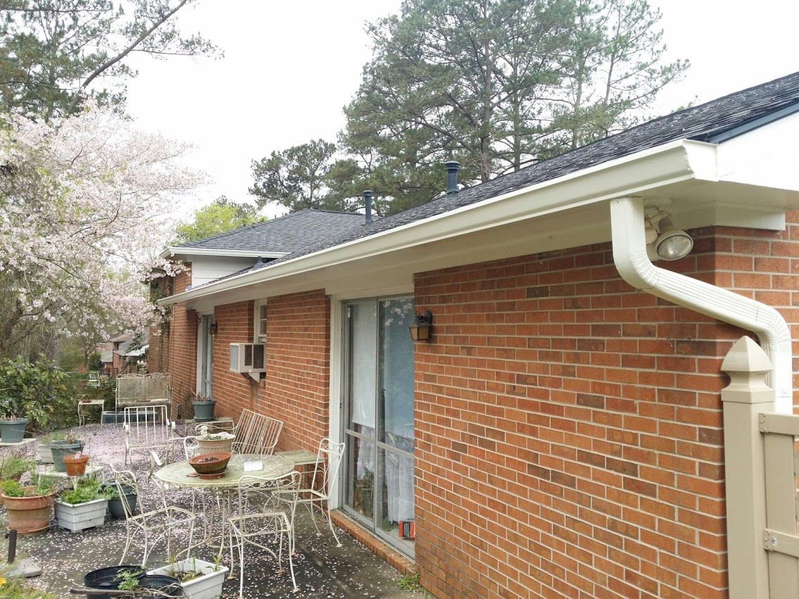Gutter installed in Macon, GA